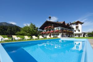 Appartementhaus Sonntal in Fieberbrunn mit Pool