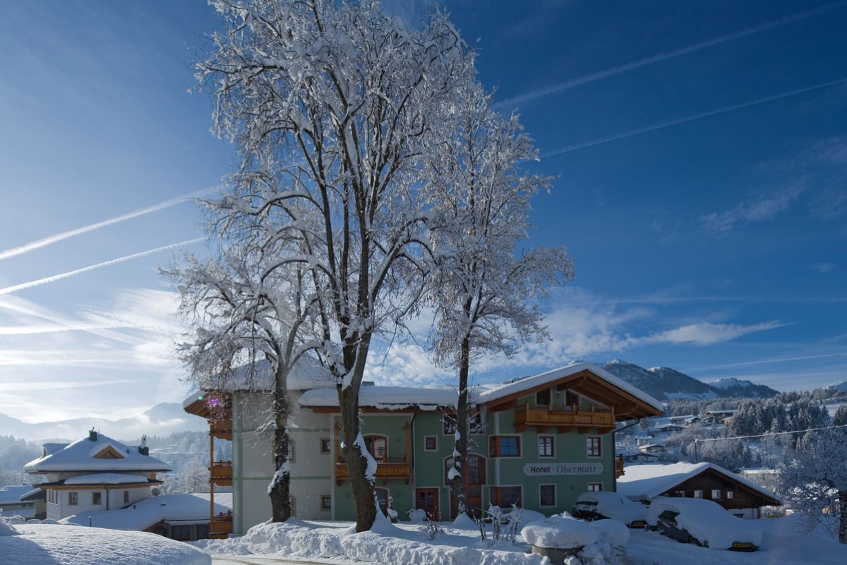 Hotel Obermair Fieberbrunn im Winter